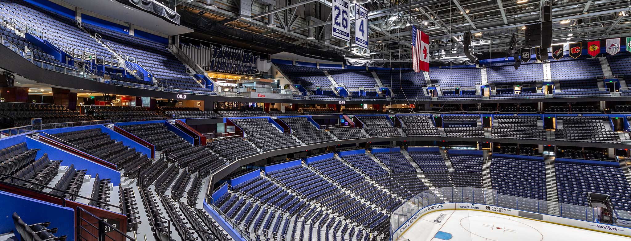 Amalie Arena Upgrades