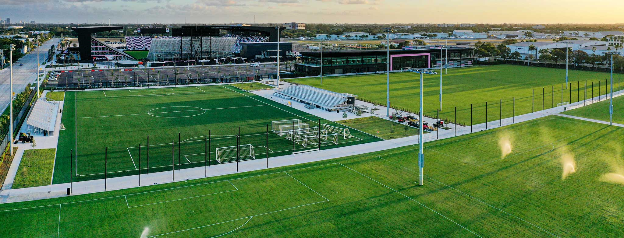 Inter Miami CF Lockhart Stadium and Training Facility