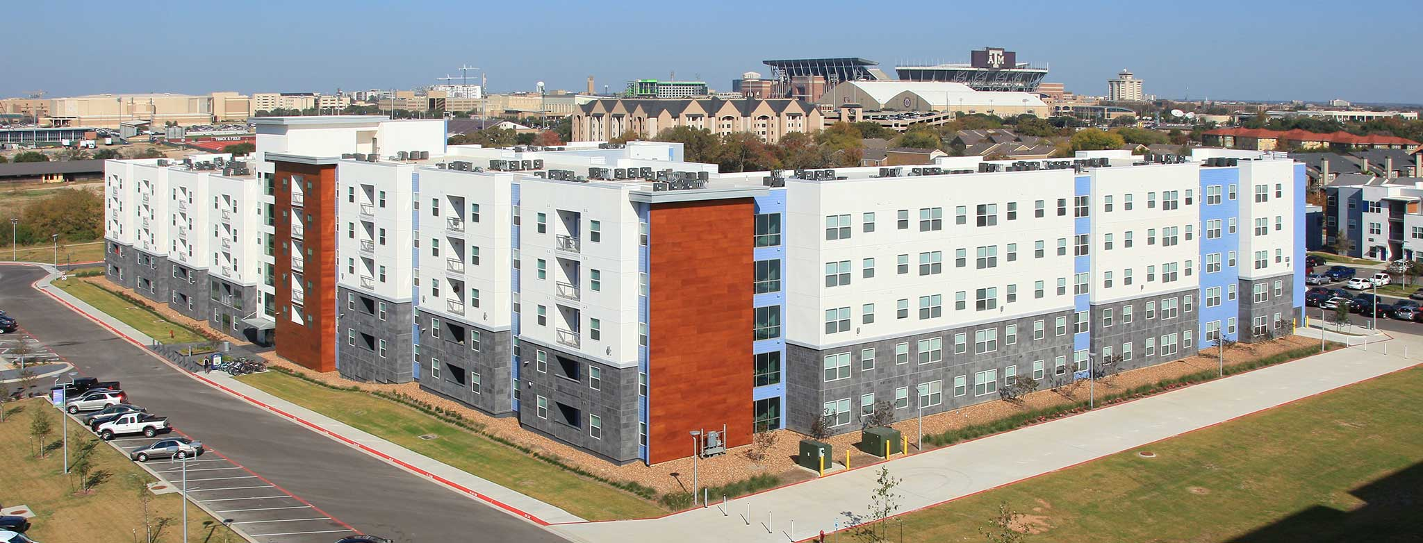 TAMU Park West Student Apartments